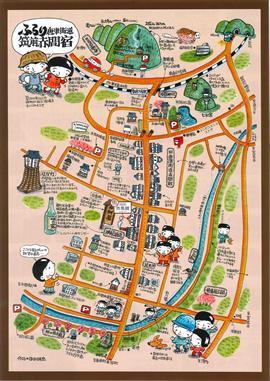 町歩きマップ